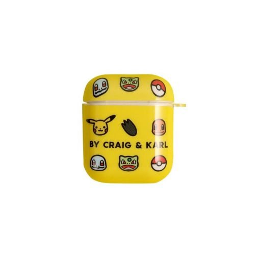 Pikachu Style Glossy Hard Protective Case For Apple Airpods 1 & 2 - Casememe