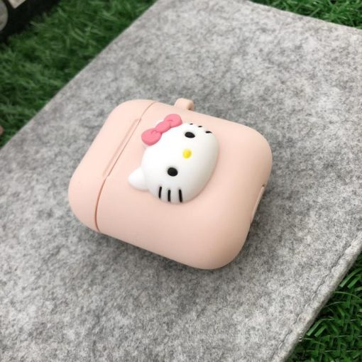 Hello Kitty Bear Duck Rabbit Stitch Doraemon Silicone Protective Shockproof Case For Apple Airpods 1 & 2 - Casememe