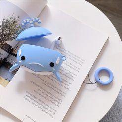 Cute Whale Silicone Protective Case For Apple Airpods Pro - Casememe