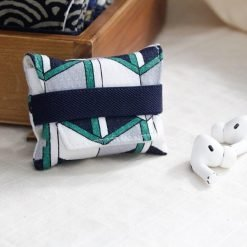 Geometric Pattern Soft Fabric Storage Bag Protective Case For Apple Airpods Pro - Casememe