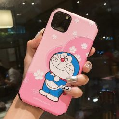 Doraemon Style Sculpted Silicone Shockproof Protective Designer iPhone Case For iPhone SE 11 Pro Max X XS Max XR 7 8 Plus - Casememe
