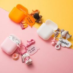 Doggy Keychain Silicone Protective Case For Apple Airpods Pro - Casememe