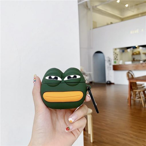 Sad Frog Style Silicone Protective Case For Apple Airpods 1 & 2 - Casememe