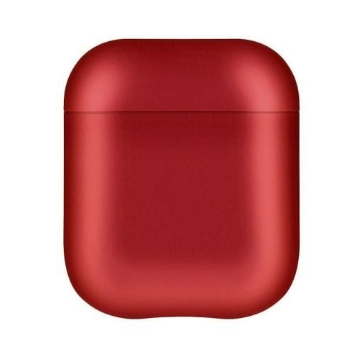 Metalic Smooth Hard Protective Shockproof Case For Apple Airpods 1 & 2 - Casememe