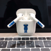 KAWS Style Blue Minimalism AirPods Skin Sticker Adhesive Protective Decal For Apple AirPods 1 & 2 - Casememe