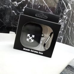 Off White OW Street Fashion Silicone Protective Shockproof Case For Apple Airpods 1 & 2 - Casememe