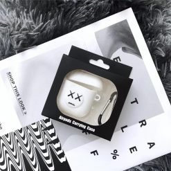 KAWS Style Silicone Protective Shockproof Case For Apple Airpods 1 & 2 - Casememe