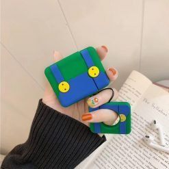Mario Style Pants Silicone Designer Protective Shockproof Case For Apple Airpods 1 & 2 - Casememe