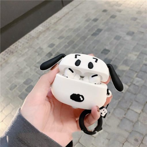 Snoopy Style Charlie Silicone Protective Designer Case For Apple Airpods Pro - Casememe