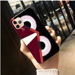 Fendi Monster Style Matte Shockproof Protective Designer iPhone Case For iPhone SE 11 Pro Max X XS Max XR 7 8 Plus - Casememe