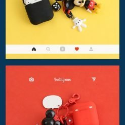 Disney Mickey Minnie Mouse Silicone Protective Shockproof Case For Apple Airpods 1 & 2 - Casememe