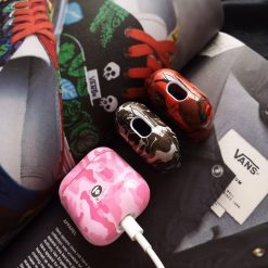 Aape Style Camo Camouflage Hard Protective Shockproof Case For Apple Airpods 1 & 2 - Casememe