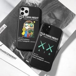 KAWS x NIKE Style Silicone Shockproof Protective Designer iPhone Case For iPhone SE 11 Pro Max X XS Max XR 7 8 Plus - Casememe