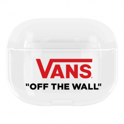 Vans Style Off the Wall Clear Hard Protective Case For Apple Airpods Pro - Casememe