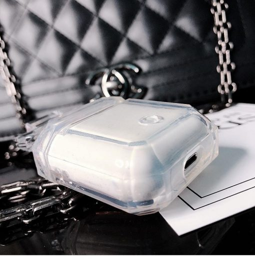 Miss Dior Style Perfume Clear Protective Shockproof Case For Apple Airpods 1 & 2 - Casememe