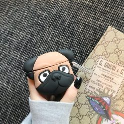 Pug Doggy Silicone Protective Case For Apple Airpods Pro - Casememe