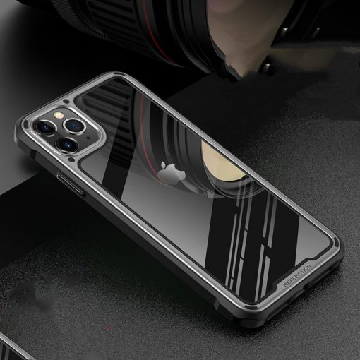 Bumper Frame Tempered Glass Designer iPhone Case For iPhone SE 11 Pro Max X XS XS Max XR 7 8 Plus - Casememe
