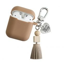 Elegant Silicone Protective Shockproof Case With Suede Tassel For Apple Airpods 1 & 2 - Casememe