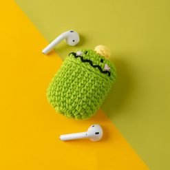Tom Green Monster Knit Soft Protective Shockproof Case For Apple Airpods 1 & 2 - Casememe