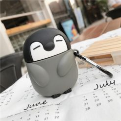 Penguin Silicone Protective Case For Apple Airpods Pro - Casememe