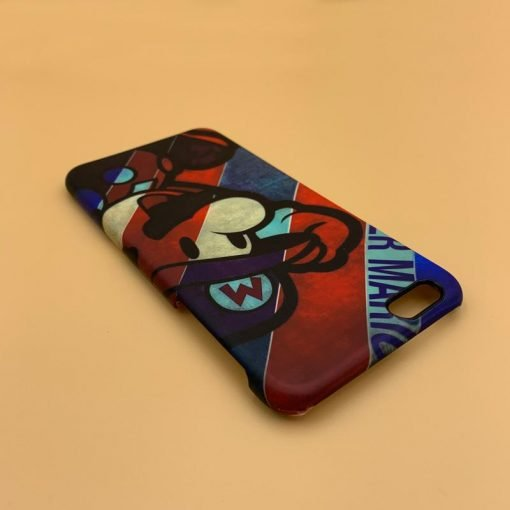 Mario Style Matte Silicone Shockproof Protective Designer iPhone Case For iPhone SE 11 Pro Max X XS Max XR 7 8 Plus - Casememe