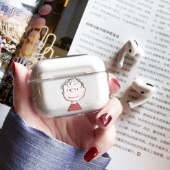 Snoopy Style Charlie Clear Hard Protective Designer Case For Apple Airpods Pro - Casememe