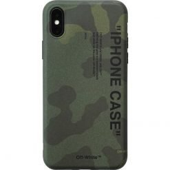 OFF WHITE Style Camouflage Silicone Shockproof Protective Designer iPhone Case For iPhone SE 11 Pro Max X XS Max XR 7 8 Plus - Casememe