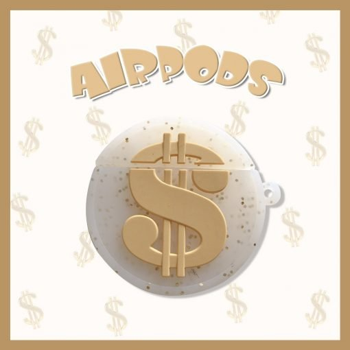 Dollar Silicone Protective Case For Apple Airpods 1 & 2 - Casememe