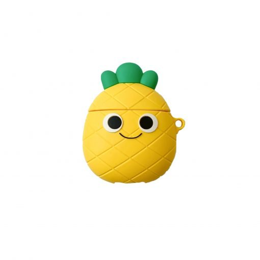 Cute Pineapple Silicone Protective Case For Apple Airpods 1 & 2 - Casememe