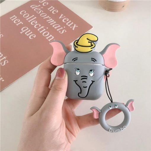 Dumbo Flying Elephant Silicone Protective Shockproof Case For Apple Airpods 1 & 2 - Casememe