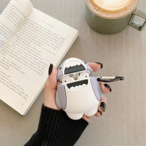 Cute Shark Silicone Protective Case For Apple Airpods 1 & 2 - Casememe