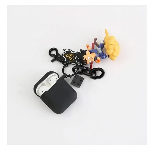 Dragon Ball Goku Black Silicone Protective Shockproof Case For Apple Airpods 1 & 2 - Casememe
