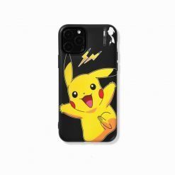 FRAGEMENT x Dark Pikachu Style Silicone Shockproof Protective Designer iPhone Case For iPhone SE 11 Pro Max X XS Max XR 7 8 Plus - Casememe