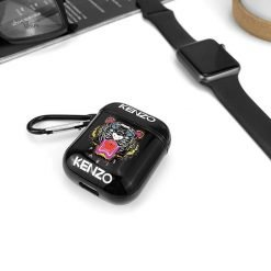 Kenzo Style Glossy Tiger Hard Silicone Protective Shockproof Case For Apple Airpods 1 & 2 - Casememe