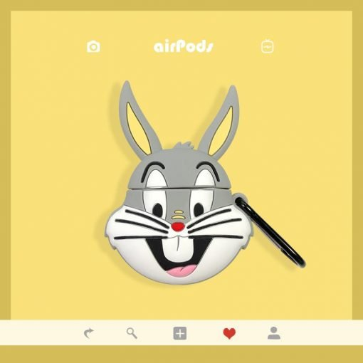 Bugs Bunny Style Silicone Protective Case For Apple Airpods 1 & 2 - Casememe