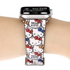 Hello Kitty Style Leather Compatible With Apple Watch iWatch 38mm 40mm 42mm 44mm Band Strap For iWatch Series 4/3/2/1 - Casememe