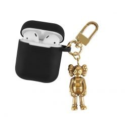 KAWS Style Golden Man Silicone Protective Shockproof Case For Apple Airpods 1 & 2 - Casememe