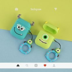 Monsters University Silicone Protective Shockproof Case For Apple Airpods 1 & 2 - Casememe