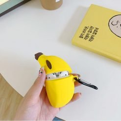 Banana Silicone Protective Case For Apple Airpods Pro - Casememe