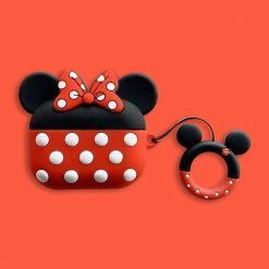 Disney Style Mickey Minnie Mouse Silicone Protective Case For Apple Airpods Pro - Casememe