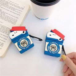 Snoopy Style Silicone Protective Case For Apple Airpods 1 & 2 - Casememe
