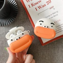 Funny Incense Man Silicone Protective Case For Apple Airpods 1 & 2 - Casememe
