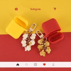 Popcorn Silicone Protective Shockproof Case For Apple Airpods 1 & 2 - Casememe