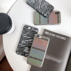 Balenciaga Style Trendy Silicone Designer iPhone Case For iPhone SE 11 Pro Max X XS Max XR 7 8 Plus - Casememe