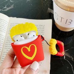 McDonald's MCD Popcorn Silicone Protective Shockproof Case For Apple Airpods 1 & 2 - Casememe