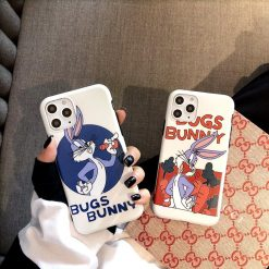 Bugs Bunny Style Silicone Shockproof Protective Designer iPhone Case For iPhone SE 11 Pro Max X XS Max XR 7 8 Plus - Casememe