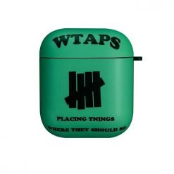 WTAPS Style Hard Matte Protective Case For Apple Airpods 1 & 2 - Casememe