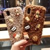 Teddy Bear Furry Silicone Shockproof Protective Designer iPhone Case For iPhone SE 11 Pro Max X XS Max XR 7 8 Plus - Casememe