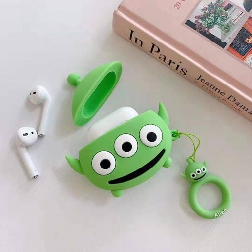 Monster University Style Silicone Designer Protective Case For Apple Airpods Pro - Casememe