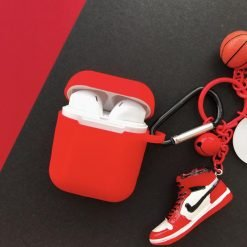 Air Jordan Sneaker Silicone Protective Shockproof Case For Apple Airpods 1 & 2 - Casememe